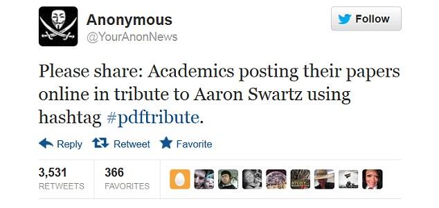 Swartz tribute